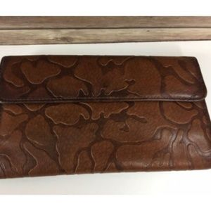 Mundi Genuine Leather Wallet Womens Coin Purse